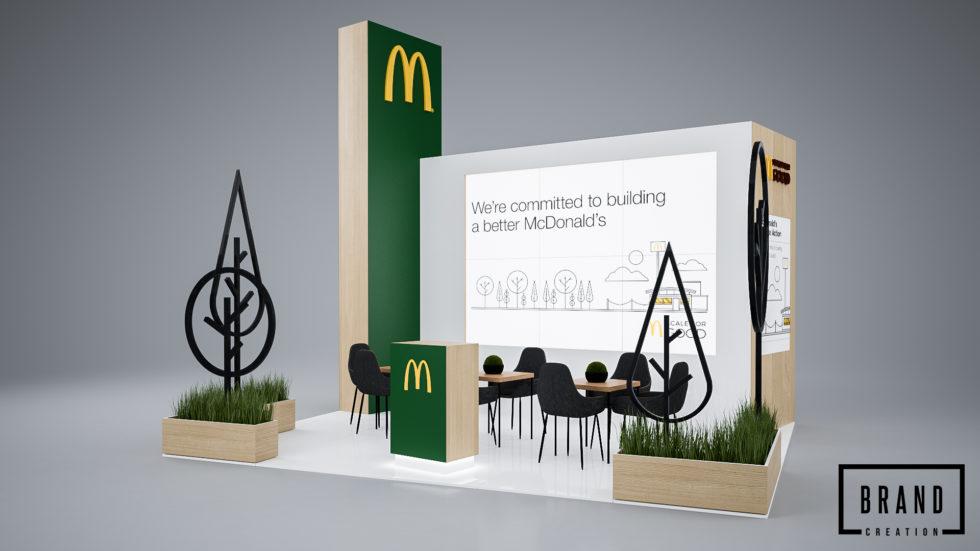 Stoisko targowe McDonald's