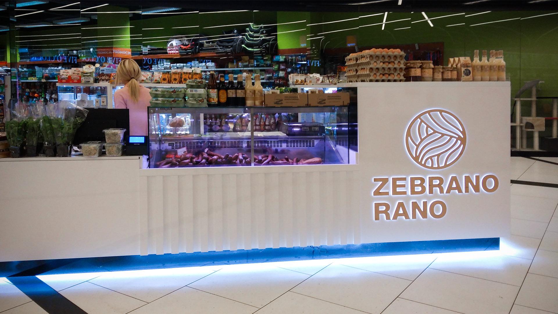 wyposażenie sklepów - stoisko handlowe